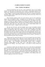 essays writings